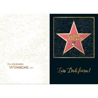Great Cards Du bist unser Star - Simply the Best - Star für Dich, mit Musik